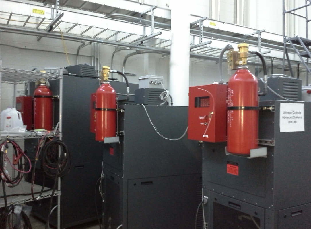 Fire Suppression System Install